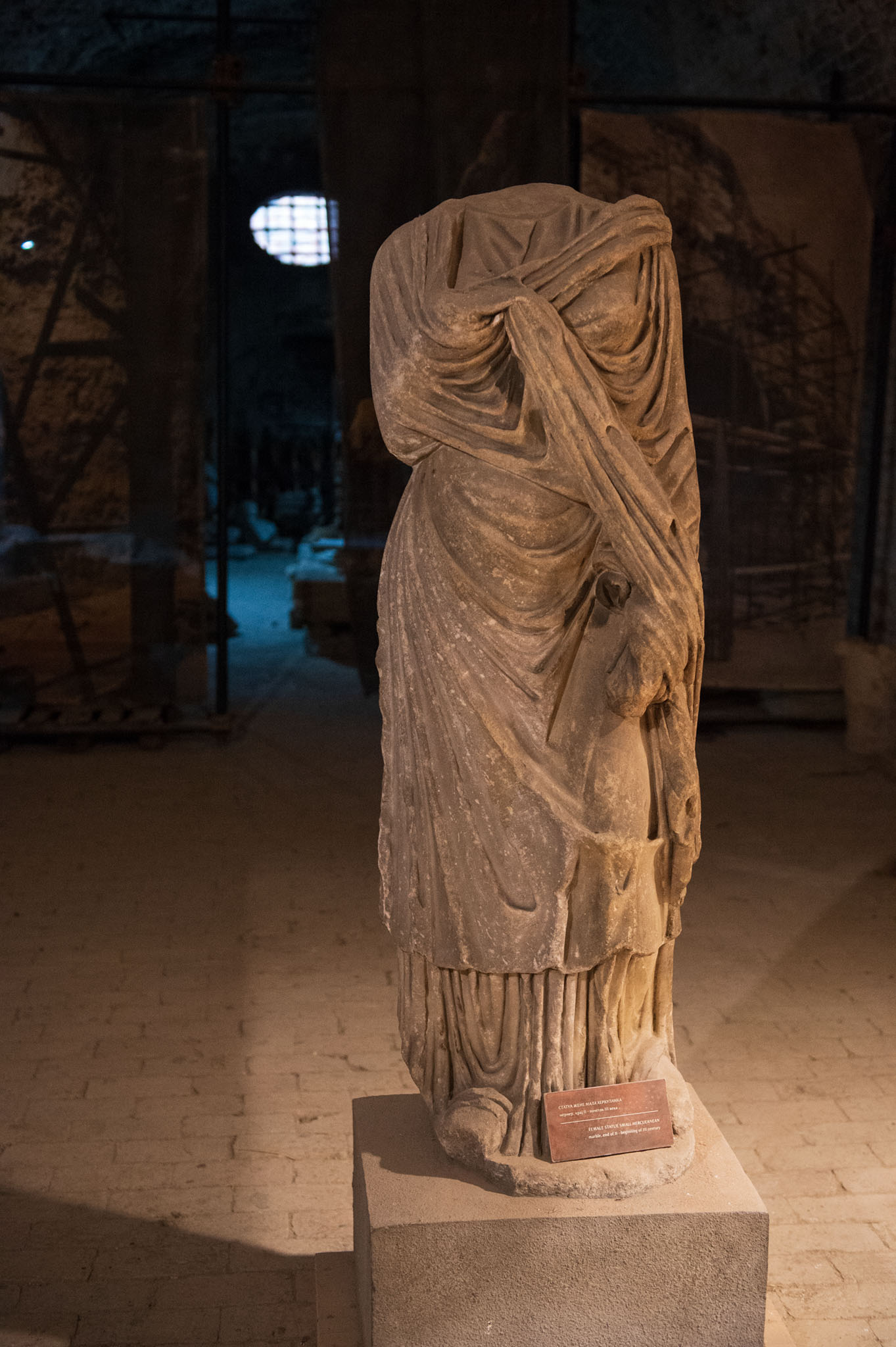 Rimska statua, Barutana